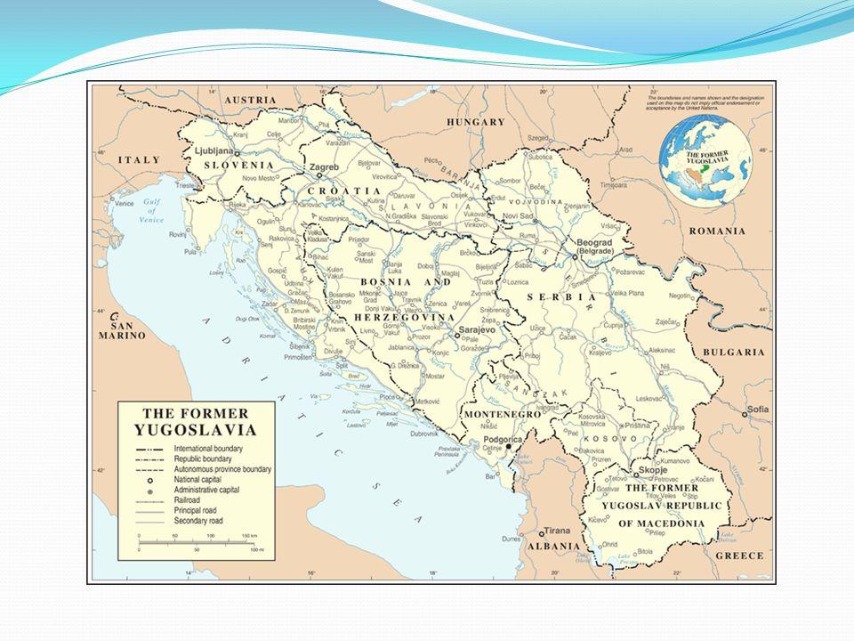 Následky a válečný tribunál velké části poškozeny etnické čistky – Bosna a Hercegovina, Srbská Krajina, Kosovo nacionalismus a náboženský extremismus Miloševič – zemřel během procesu Karadžič Mladič – Srebrenický masakr
