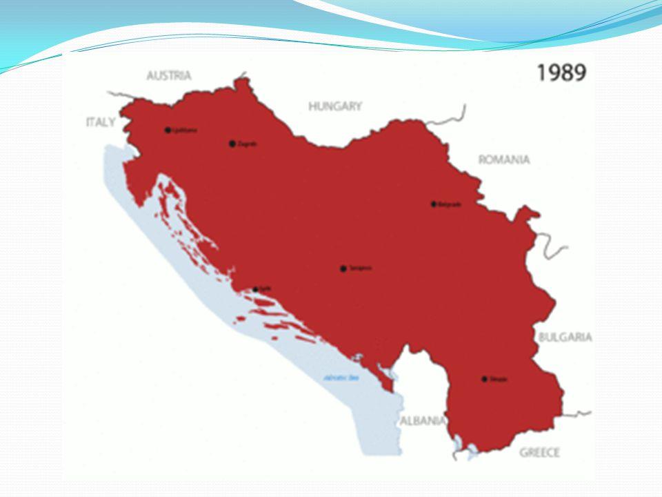 Válka ve Slovinsku etnicky téměř jednolité prosinec 1990 referendum 25.