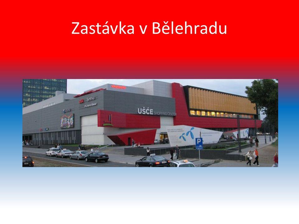 Zastávka v Bělehradu