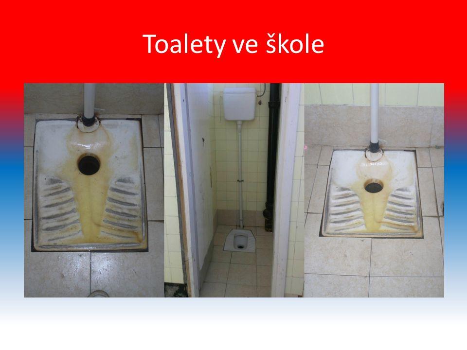Toalety ve škole