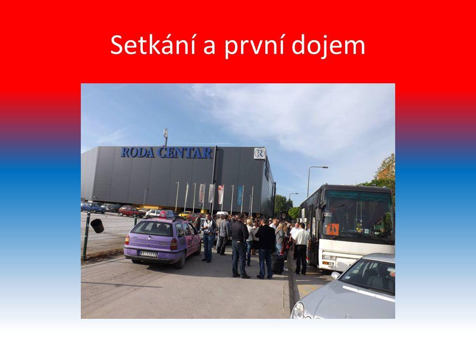 Odpolední program Každý Srb, který měl ubytovaného Čecha měl vymyslet odpolední program např.