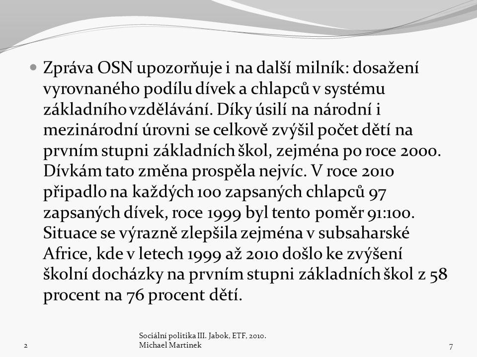 2 Sociální politika III.Jabok, ETF, 2010.