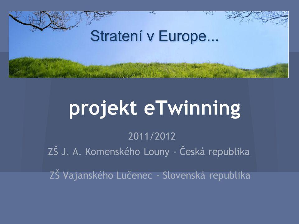 projekt eTwinning 2011/2012 ZŠ J. A.