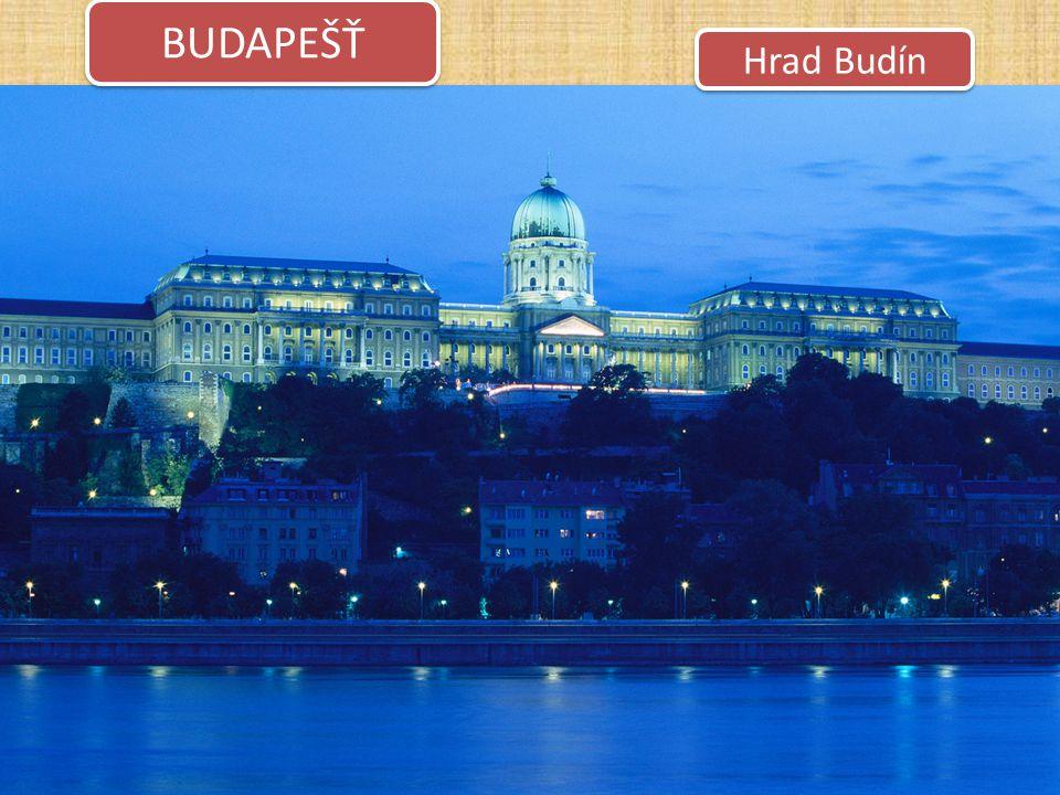 Hrad Budín BUDAPEŠŤ