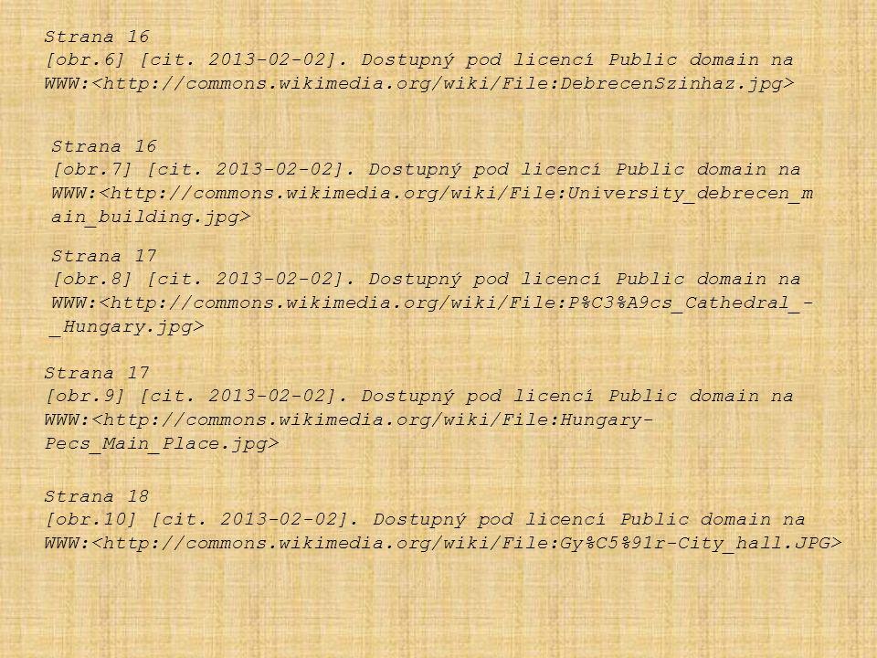 Strana 16 [obr.6] [cit. 2013-02-02]. Dostupný pod licencí Public domain na WWW: Strana 16 [obr.7] [cit. 2013-02-02]. Dostupný pod licencí Public domai