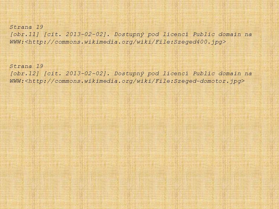 Strana 19 [obr.11] [cit. 2013-02-02]. Dostupný pod licencí Public domain na WWW: Strana 19 [obr.12] [cit. 2013-02-02]. Dostupný pod licencí Public dom