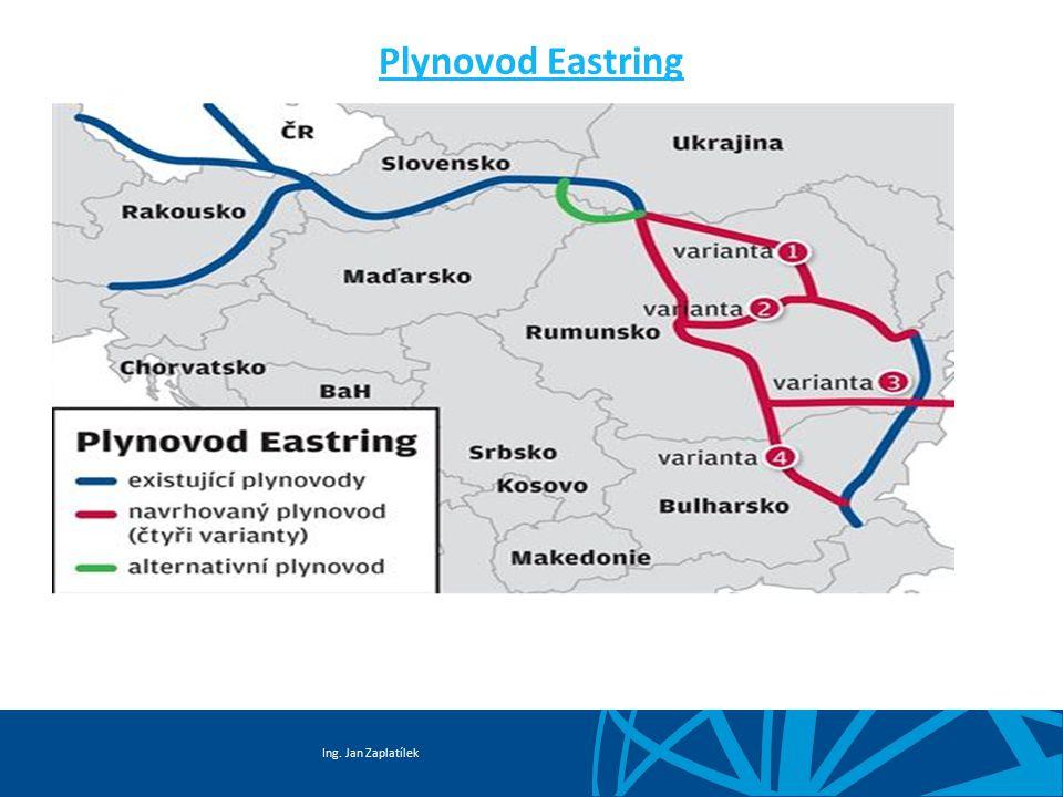 Ing. Jan Zaplatílek Plynovod Eastring