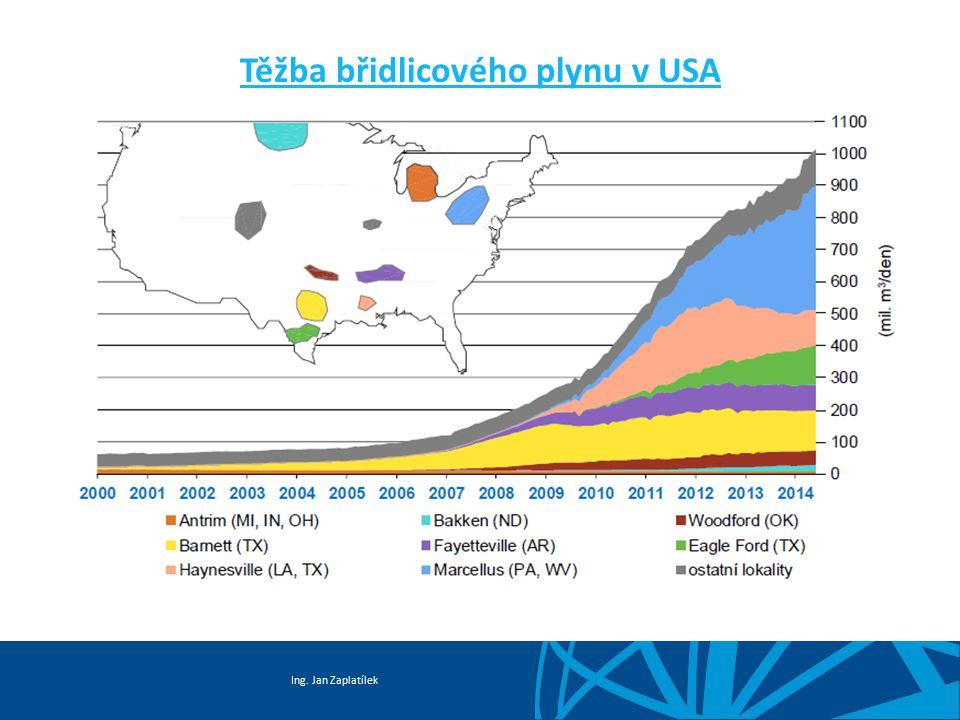 Ing. Jan Zaplatílek Těžba břidlicového plynu v USA