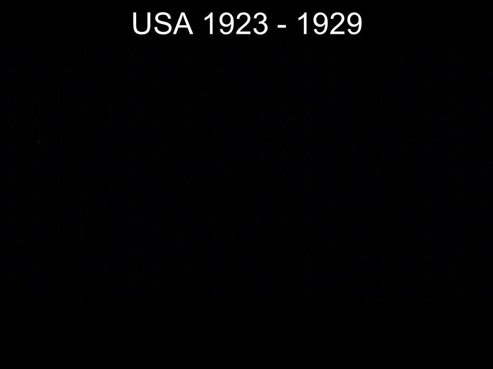 USA 1923 - 1929