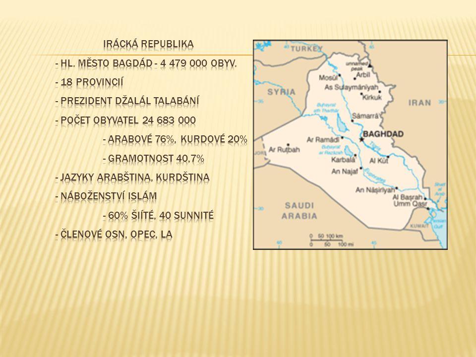  Eufrat a Tigris – území Mezopotámie – první městské státy již 3450 př.n.l.