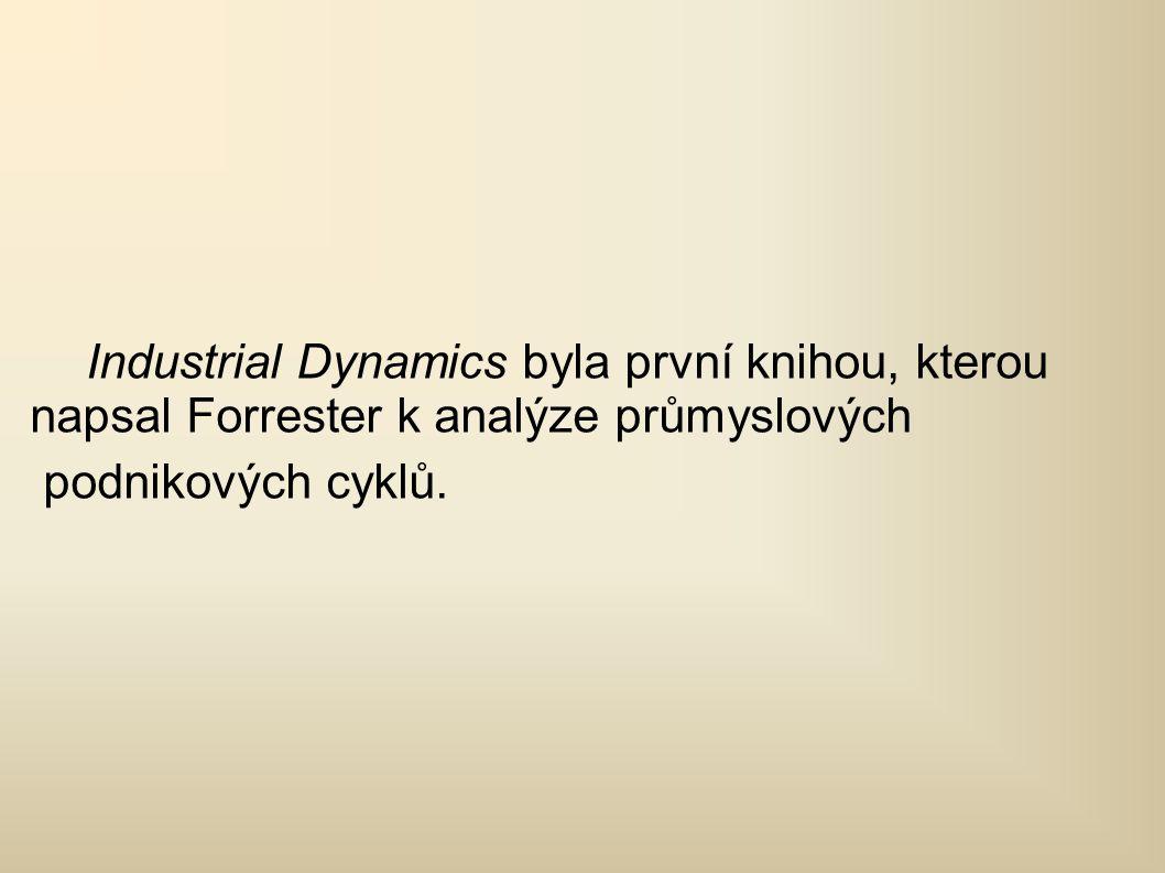 Industrial Dynamics byla první knihou, kterou napsal Forrester k analýze průmyslových podnikových cyklů.