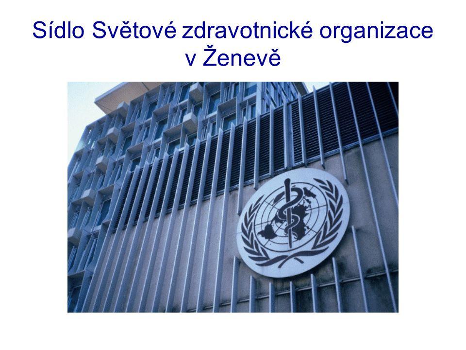 Sídlo Světové zdravotnické organizace v Ženevě