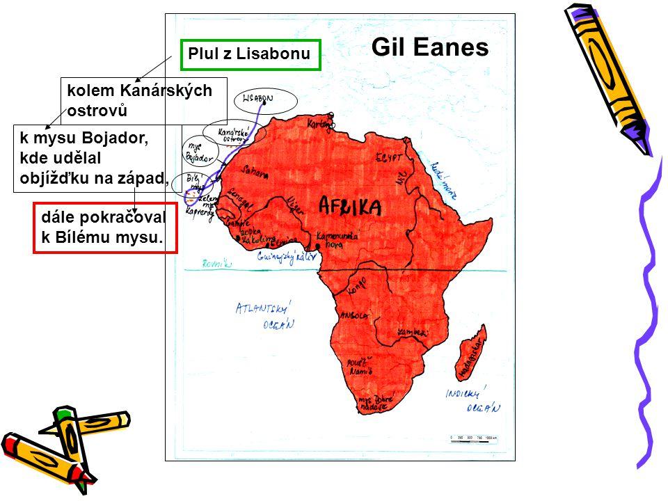 Nuno Tristão v roce 1445 objevil řeku Senegal u ústí řeky Gambie jej a jeho posádku domorodci zabili