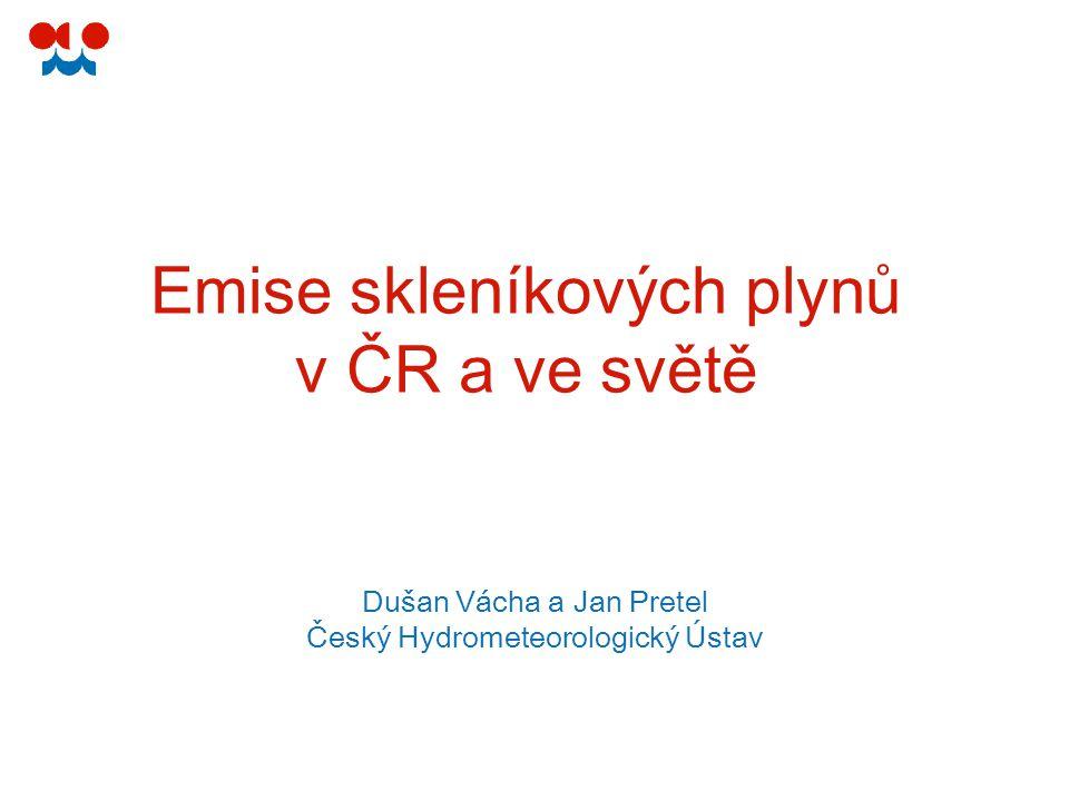 32 Vývoj v ČR ČHMÚ UN FCCC