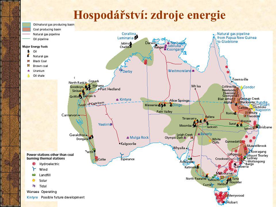 10 Hospodářství: zdroje energie