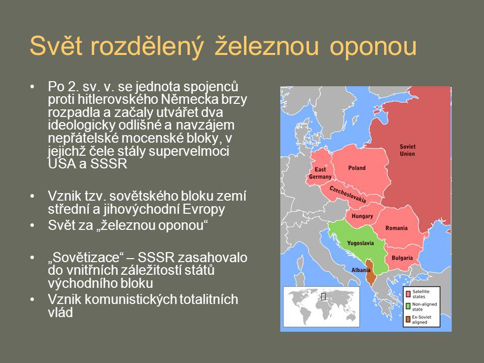 Sametová revoluce Po neúspěchu reforem v roce 1969 převládla v Československu tvrdá komunistická linie Odpor k režimu však vzrůstal (např.