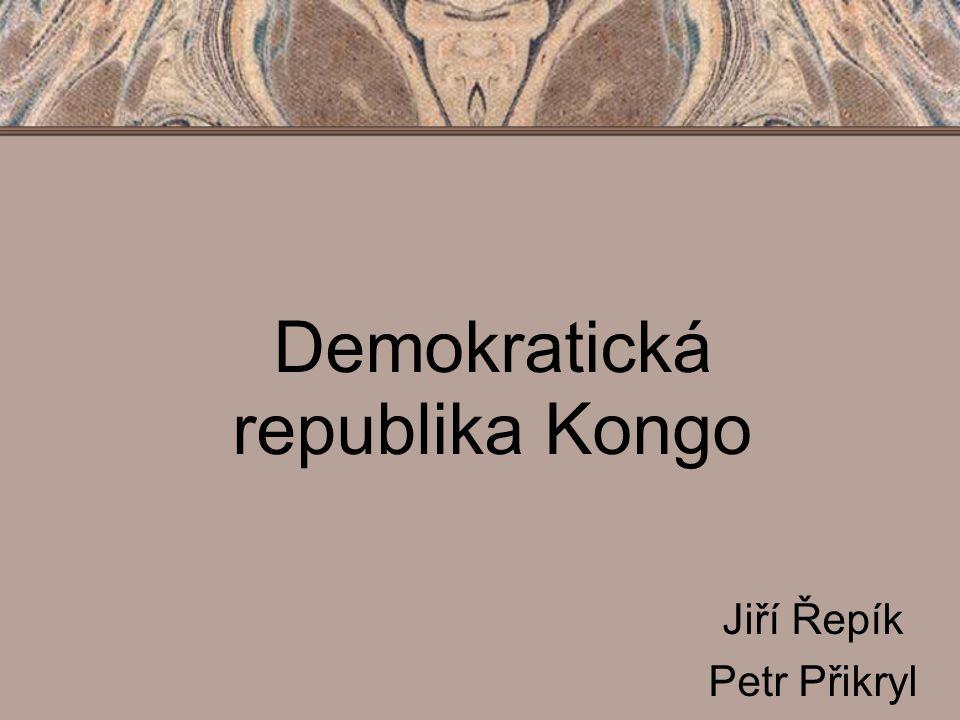 Demokratická republika Kongo Jiří Řepík Petr Přikryl