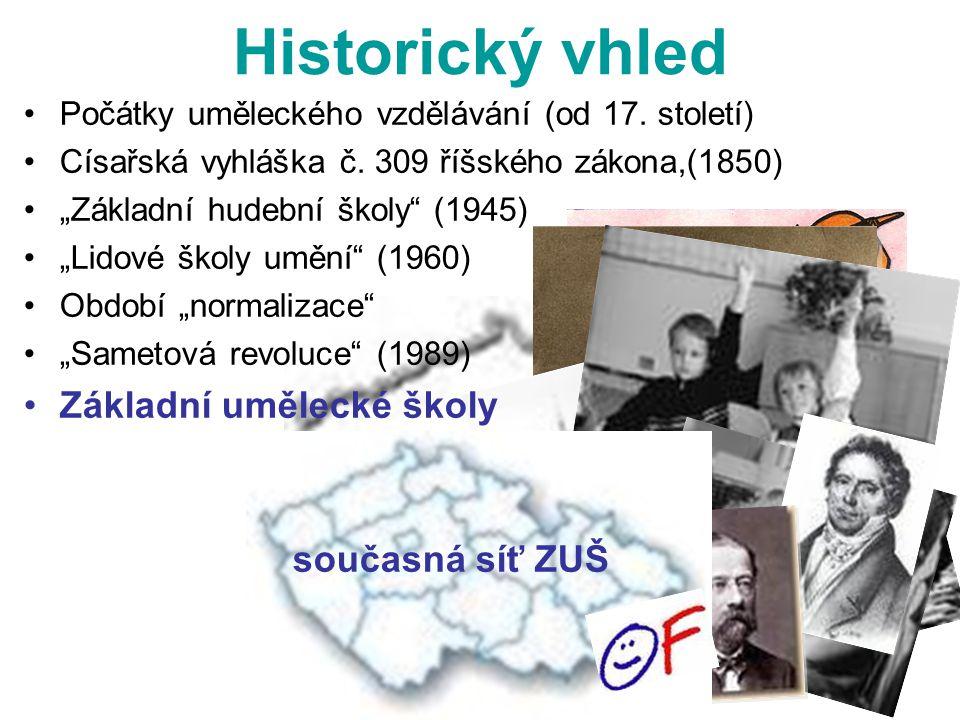 Historický vhled VO, TO, LDO Počátky uměleckého vzdělávání (od 17.