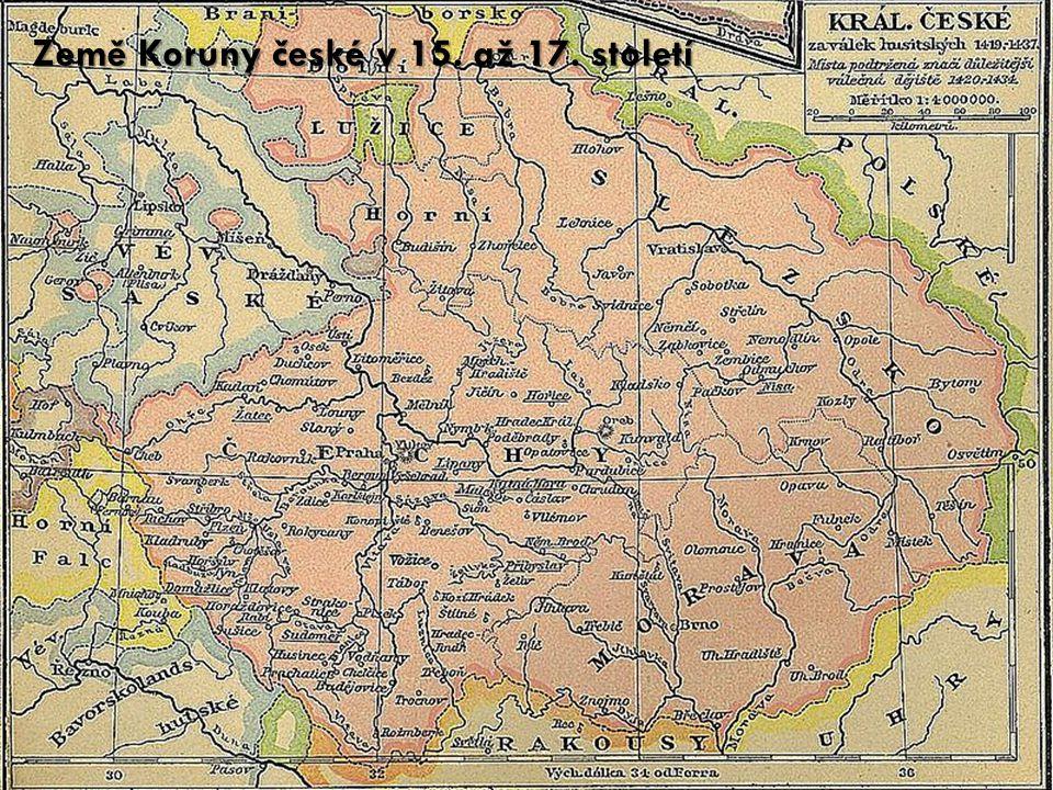 Země Koruny české v 15. až 17. století