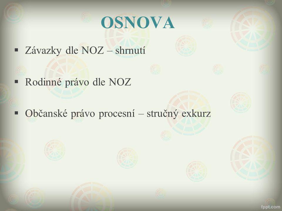 SPOLEČNÉ ZÁVAZKY § 1868 a násl.