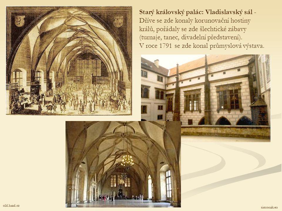 Vladislavský sál stavitel: Benedikt Rejt (psáno také Ried) hrad.cz Starý královský palác: Vladislavský sál - Vladislavský sál byl ve své době největší