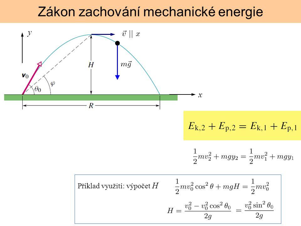 y x Příklad využití: výpočet H