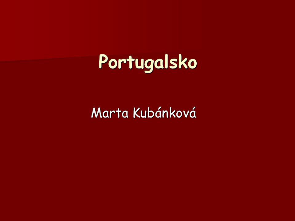 Portugalsko Marta Kubánková