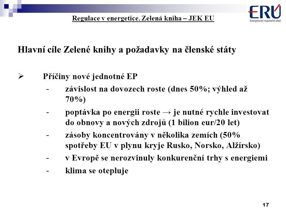 17 Regulace v energetice.