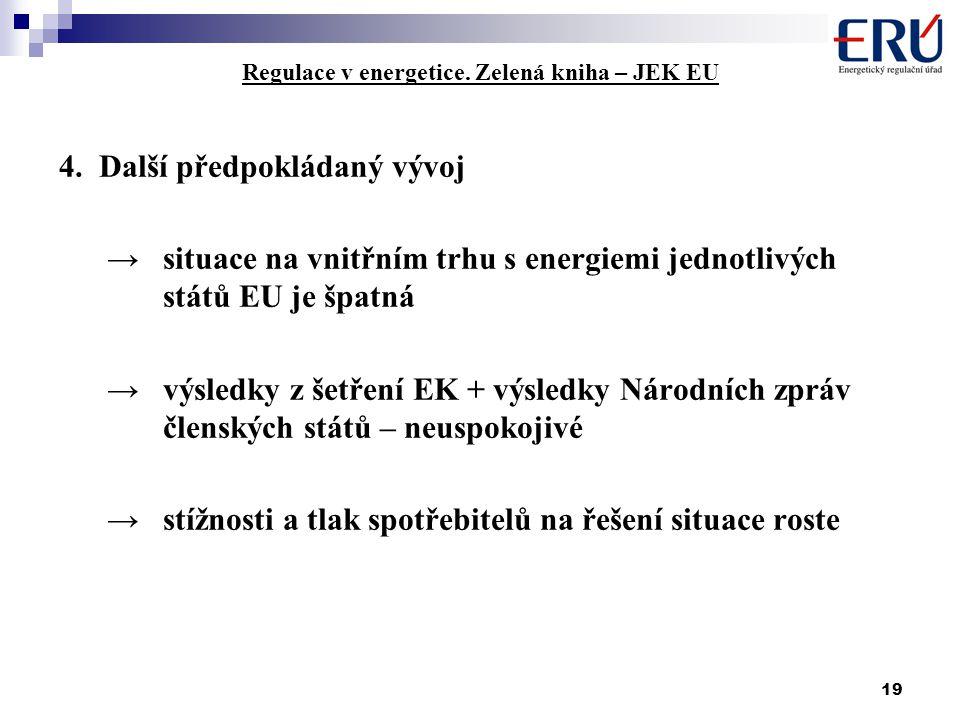 19 Regulace v energetice.