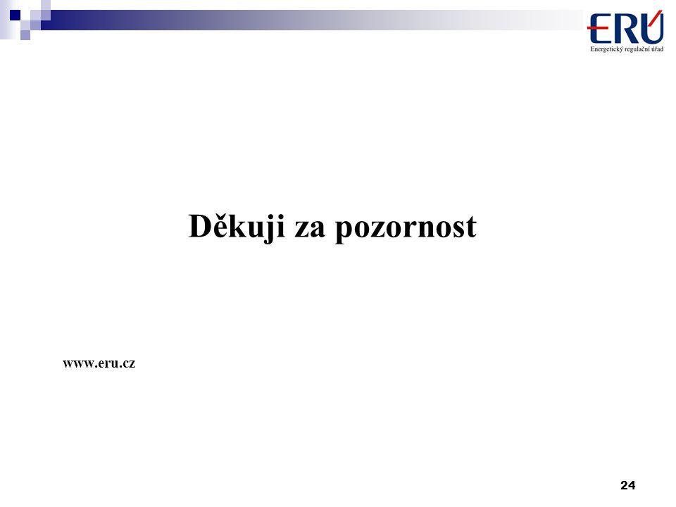 24 Děkuji za pozornost www.eru.cz