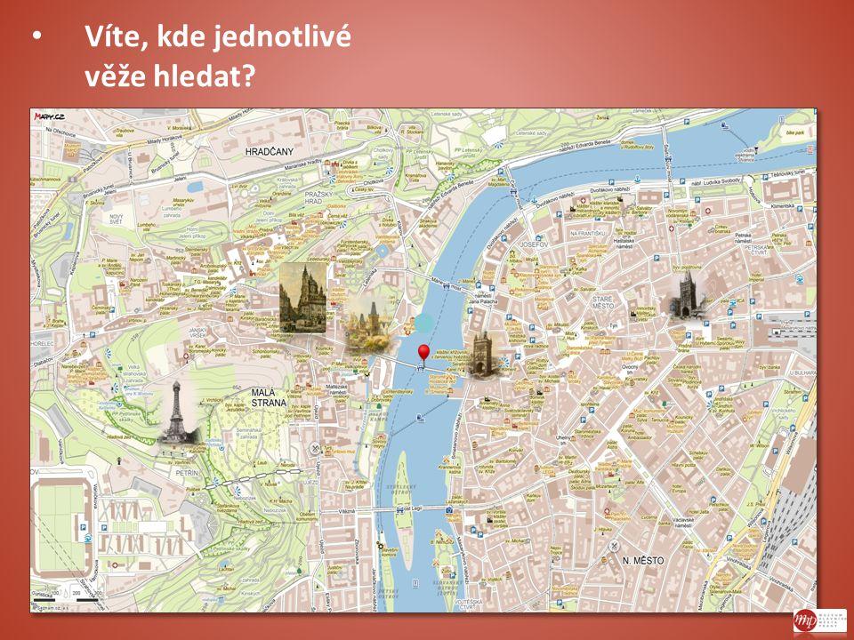 Víte, kde jednotlivé věže hledat?