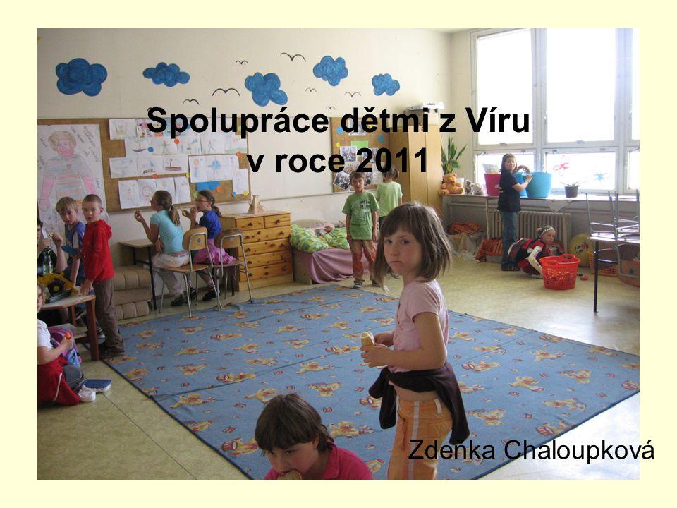 I v uplynulém roce jsme spolupracovali s dětmi navštěvujícími ŠD základní školy ve Víru.