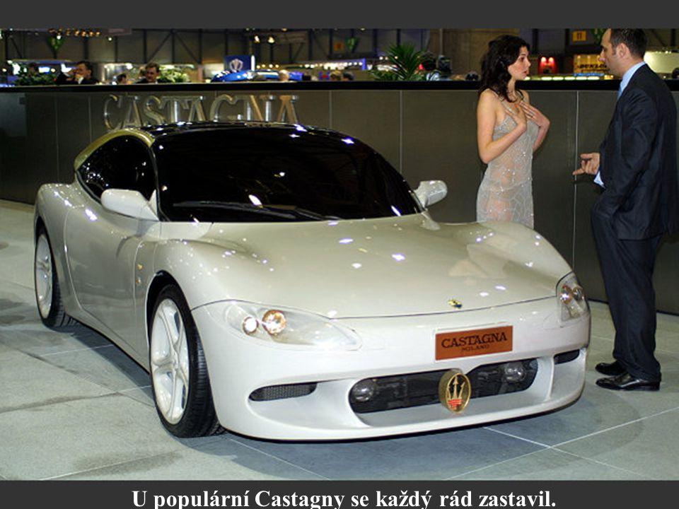 U populární Castagny se každý rád zastavil.