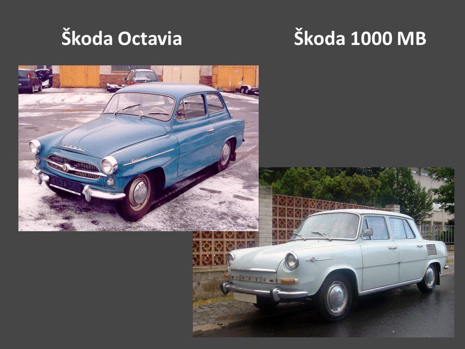 Škoda OctaviaŠkoda 1000 MB