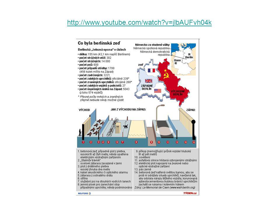 http://www.youtube.com/watch?v=6jPQM4o21aM&feature=fvsr http://www.youtube.com/watch?v=LtzY21or6qs&feature=related Pád berlínské zdi… Brutalita komunistické moci v ČSSR…