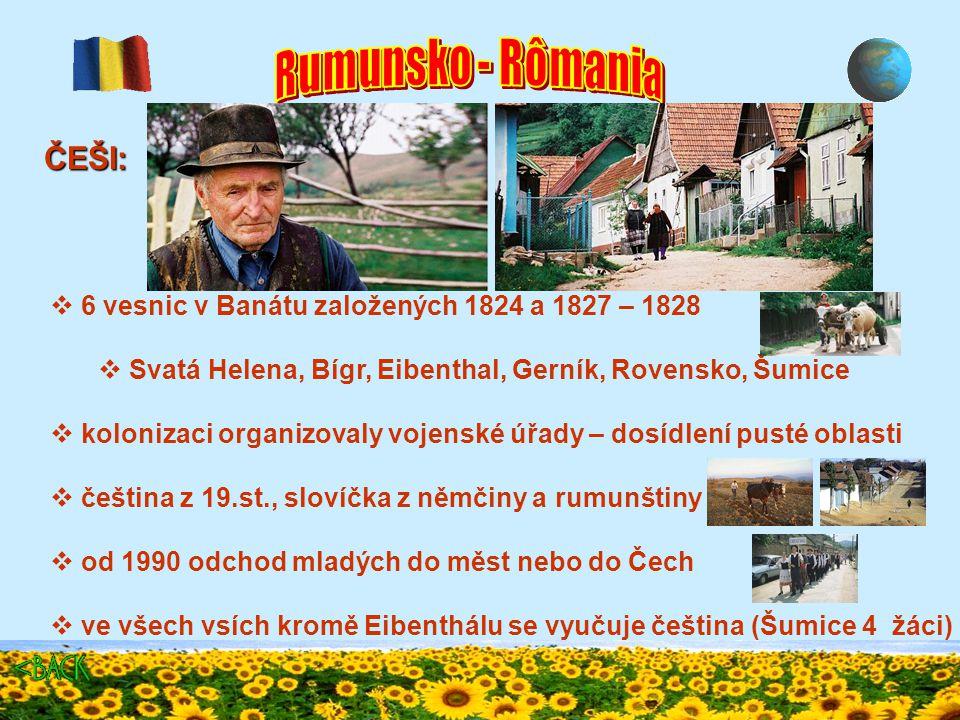 LIPOVANI:  cca 36 000 lidí, žijí v deltě Dunaje  cca 1772 z Ruska – náboženský útlak, mluví rusky, píšou azbukou  živí se jako rybáři, převozníci (Jurilovca)