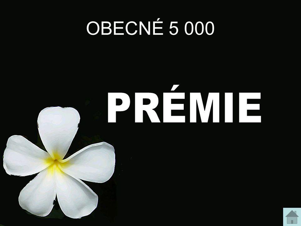 OBECNÉ 5 000