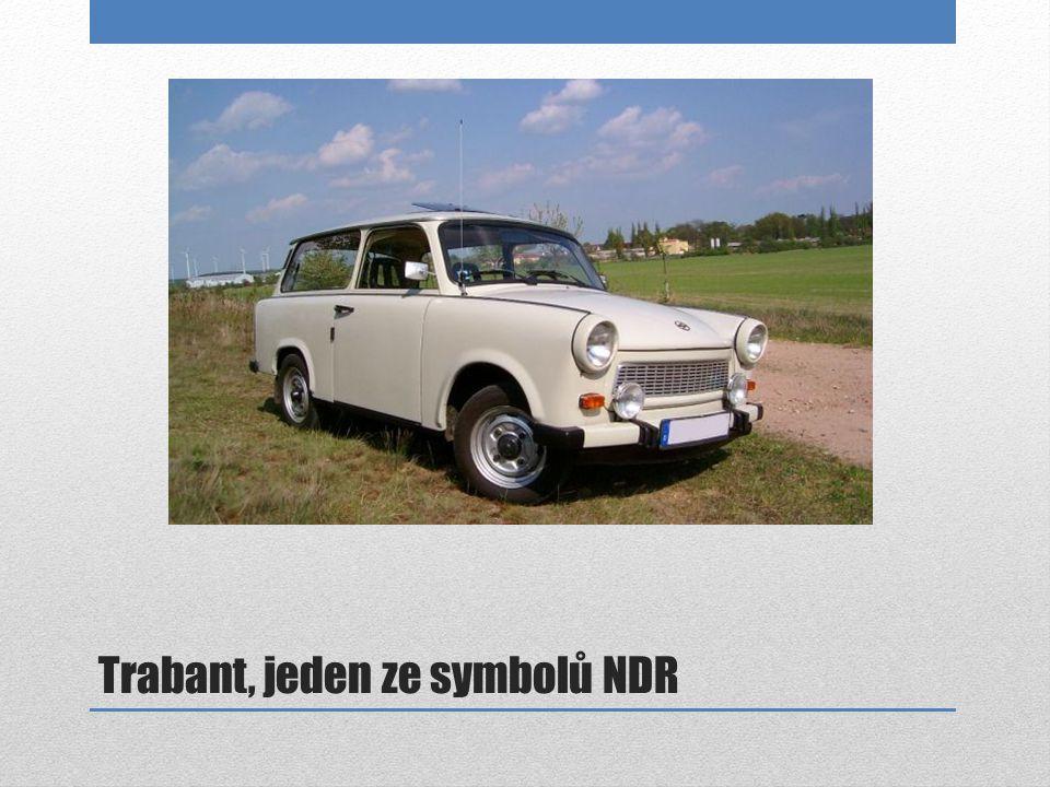 Trabant, jeden ze symbolů NDR