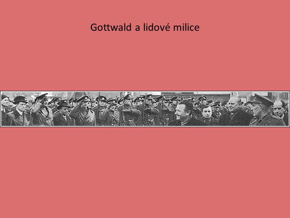 Gottwald a lidové milice