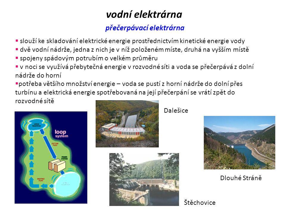 vodní elektrárna Vodní turbíny Peltonova turbína  rovnotlaká turbína s parciálním tangenciálním ostřikem  voda proudí tečně na obvod rotoru pomocí t