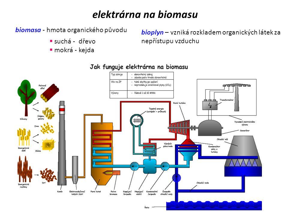 geotermální elektrárna  staví se zejména ve vulkanicky aktivních oblastech  využívají k pohonu turbín horkou páru stoupající pod tlakem z gejzírů a