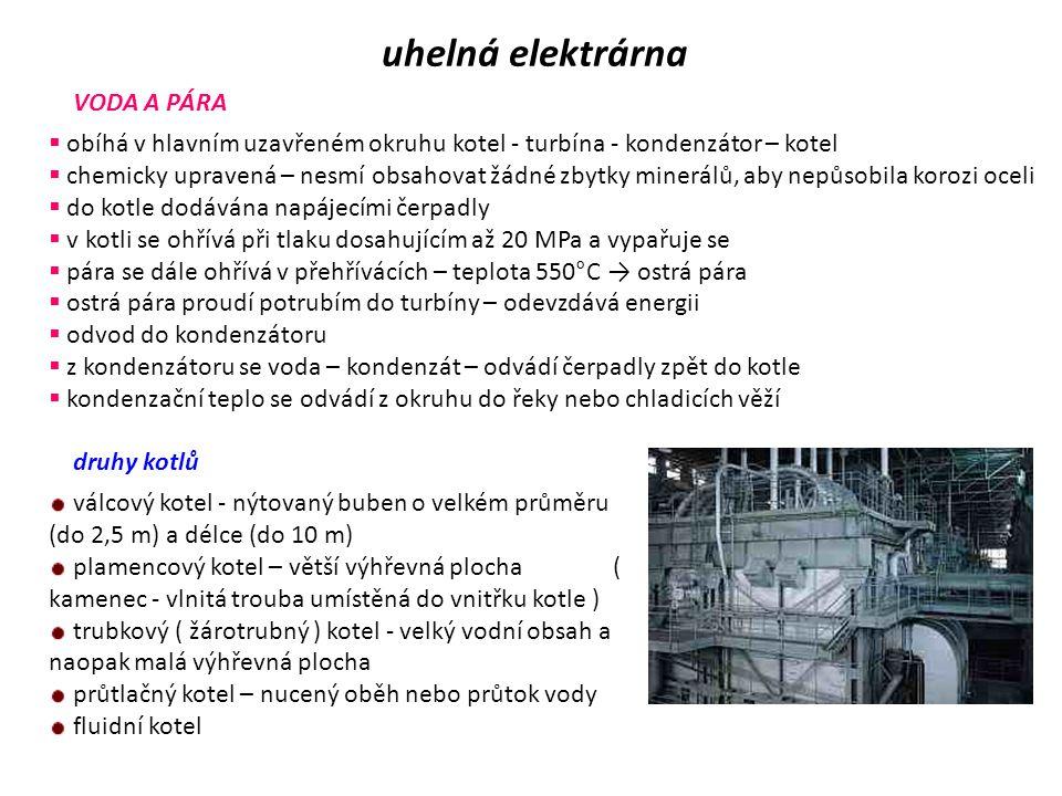 jaderná elektrárna bezpečnost  vznikající radioaktivní materiál a záření se nikdy nesmí dostat do vnějšího prostředí  musí odolat země třesení i jiným živelním pohromám, pádu letadla, teroristickým útokům, technickým závadám i selhání obsluhy Bariéry jaderných elektráren První bariéra  krystalická struktura nejčastěji používaného oxidu uraničitého UO 2 má sama schopnost udržet při normálním provozu reaktoru 99 % vznikajících radioaktivních štěpných produktů Druhá bariéra  hermetický obal palivové tyče - zachytí zbylé asi 1 % plynných produktů štěpení Třetí bariéra  ochranná obálka neboli kontejnment  reaktory mají autoregulaci  prostor primárního okruhu moderních jaderných elektráren uzavřen pod ochranný železobetonový obal – kontejnment další zvýšení bezpečnosti