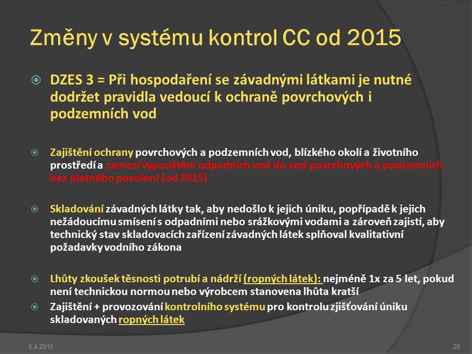  DZES 3 = Při hospodaření se závadnými látkami je nutné dodržet pravidla vedoucí k ochraně povrchových i podzemních vod  Zajištění ochrany povrchový