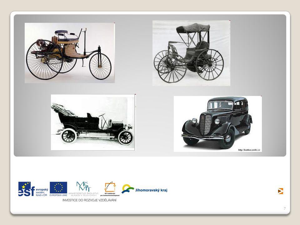 8 V ČR je trvalý a velmi rychlý růst počtu osobních automobilů.