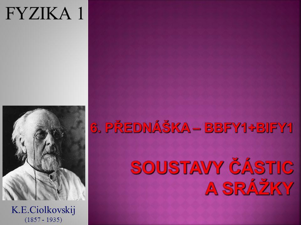 K.E.Ciolkovskij (1857 - 1935) FYZIKA 1
