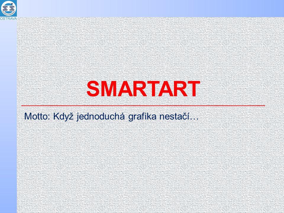 SMARTART Motto: Když jednoduchá grafika nestačí…