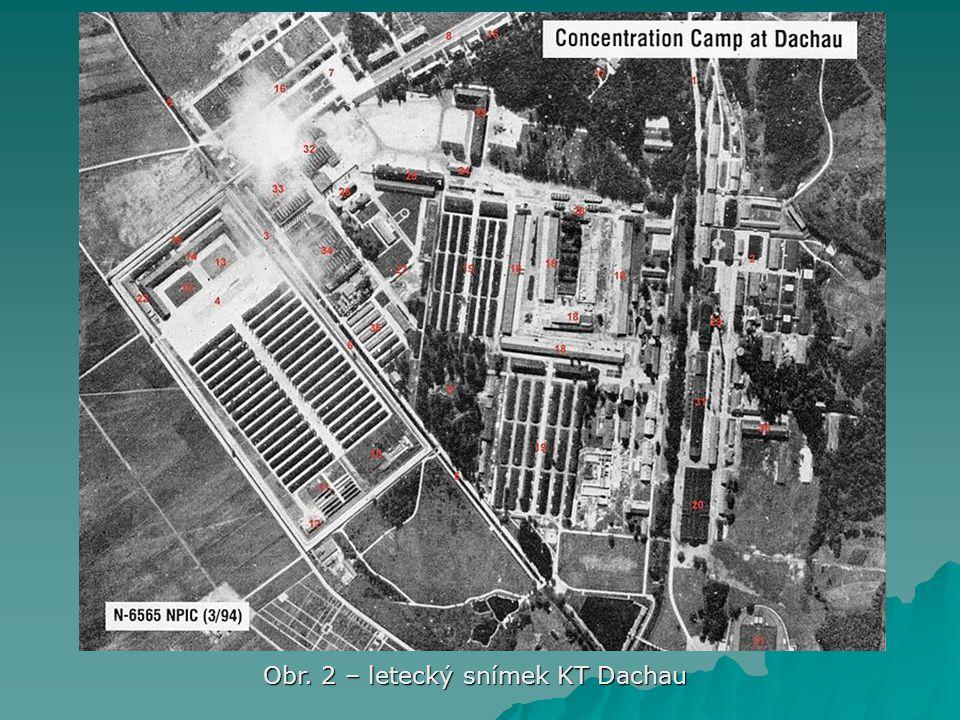 Obr. 2 – letecký snímek KT Dachau
