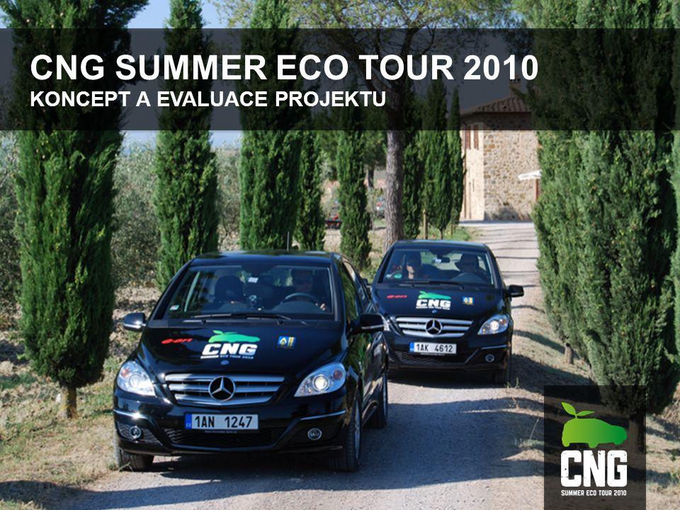 CNG SUMMER ECO TOUR 2010 KONCEPT A EVALUACE PROJEKTU