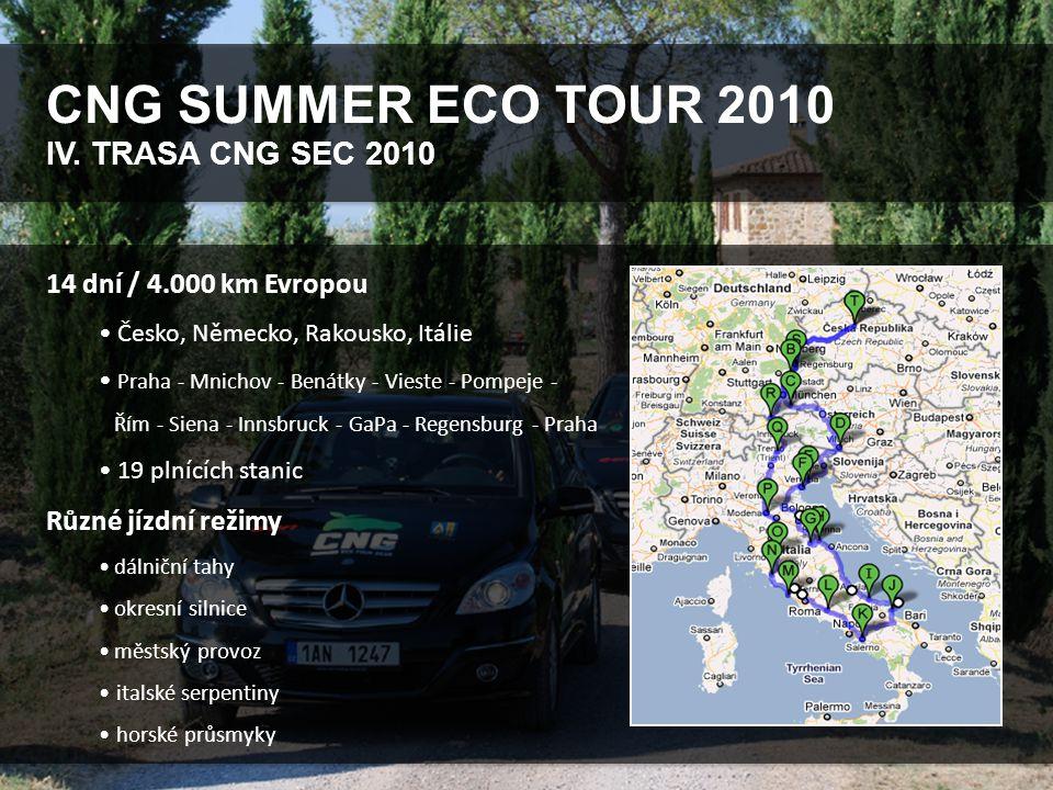 CNG SUMMER ECO TOUR 2010 V.