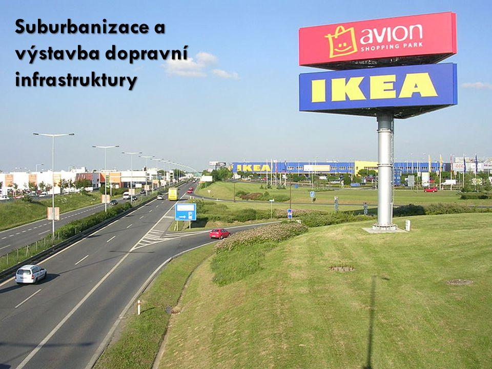 Suburbanizace a výstavba dopravní infrastruktury